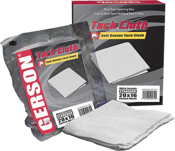 Standard 20x16 Cotton Tack Cloth - White
