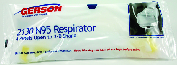 2130W Particulate Respirator (Individually Wrapped)