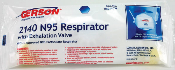 2140W Particulate Respirator (Individually Wrapped)