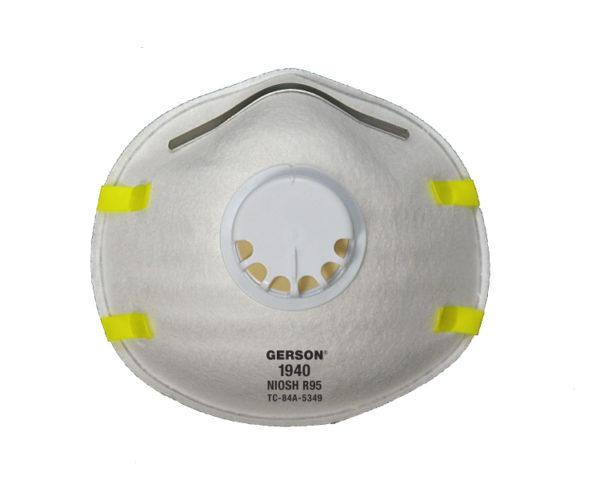 Gerson 1940 R95 Particulate Respirator w/Valve