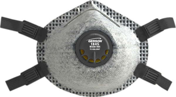 Gerson 1845 R95 Particulate Respirator w/Valve