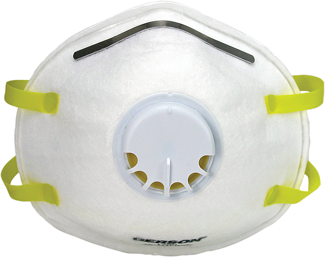 Particulate In Respirator W valve Usa 1740 Gerson N95 made -