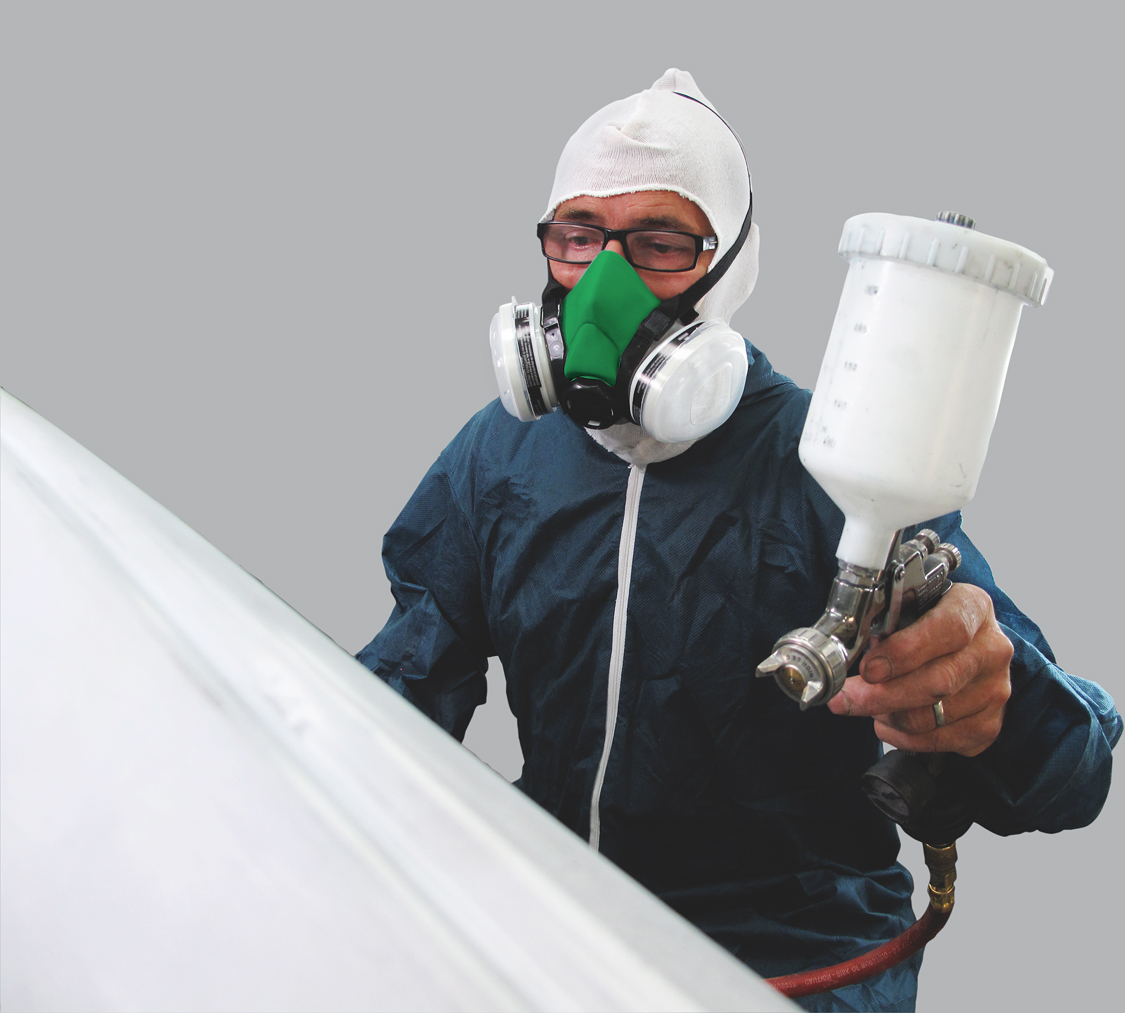 Protection For Spray Painting