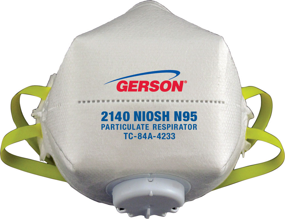 n-95 valved particulate respirator face mask