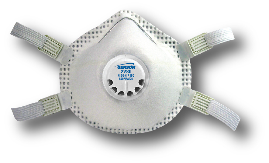 p100 particulate respirator mask