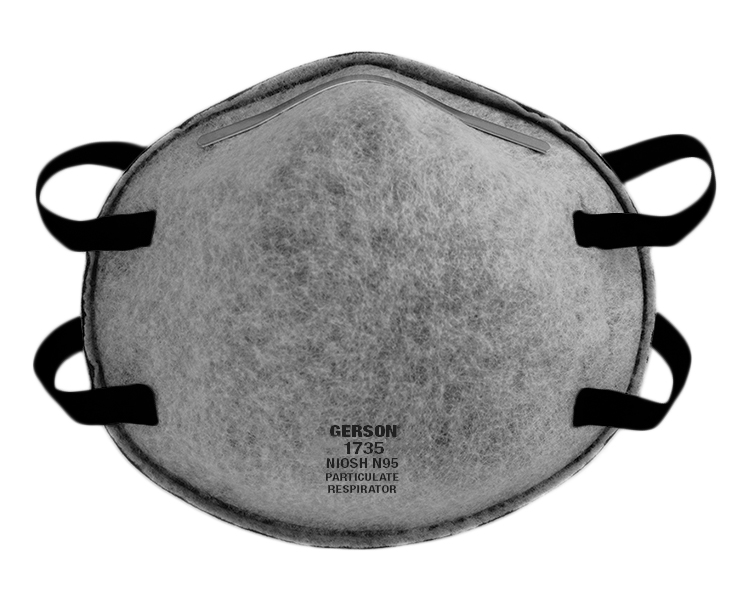 Respirator W 1735 In Relief made ov-ag Nuisance N95 Particulate