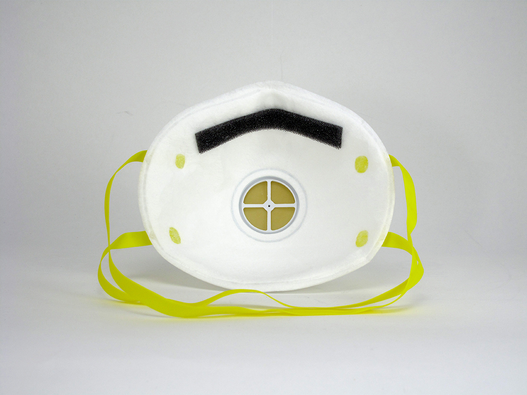 Respirator Usa W Particulate In made valve - 1740 Gerson N95
